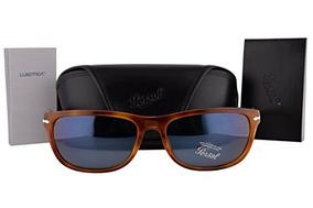 Gafas De Sol Persol Po3156s Havana Con Lente Azul 9656 Po 31