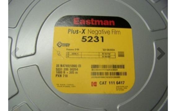Filme Kodak Eastman Plus-× Rebobinado 24 Poses Pb