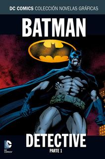 Batman: Detective Parte 1 - Colección Salvat - Dc Comics