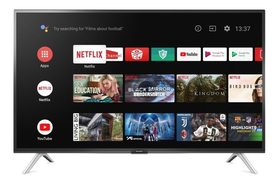 Smart Tv Led 32 Hd Con Android Hitachi