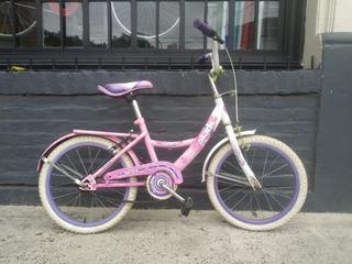 Bicicleta Infantil Rodado 16 Stark Flowers Nena