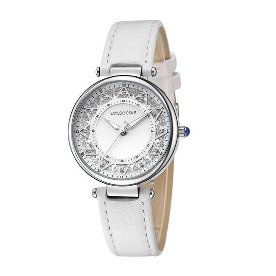 Moda Cuero Cinturón Del Cuarzo Reloj Simple Reloj Impermeabl