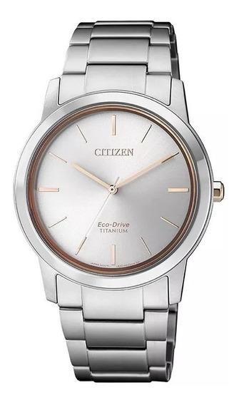 Reloj Citizen Mujer Super Titanium Eco Drive Fecha Ew221053e