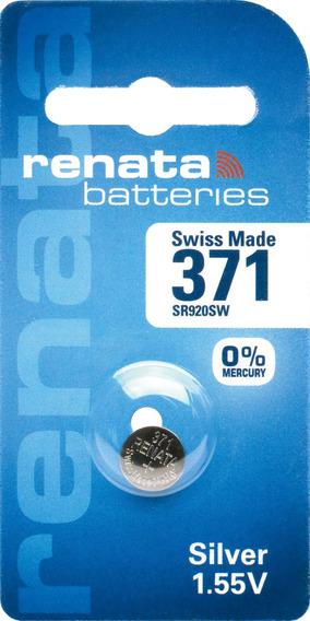 Pilhas Baterias 371, Relógio 1.55v Renata Sr920s Original