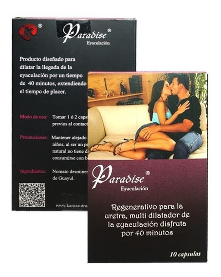 Kit De 10 Pastillas Paradise Retardantes Envió Gratis!