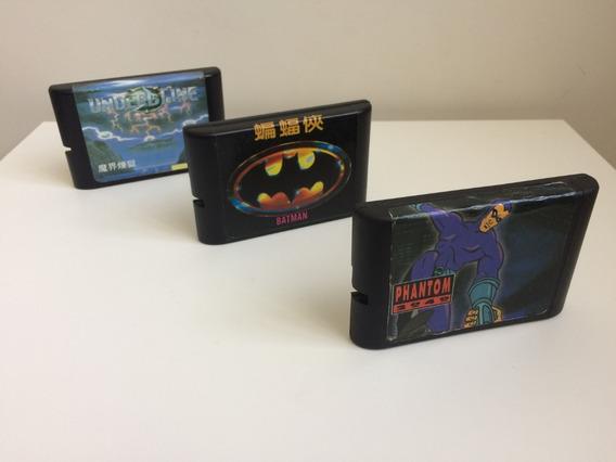 Game Cartucho Mega Drive Phantom 2014 Batman Undeadline