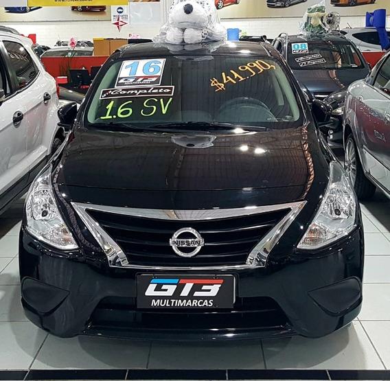 Nissan Versa 1.6 Sv 4 Portas Sedan