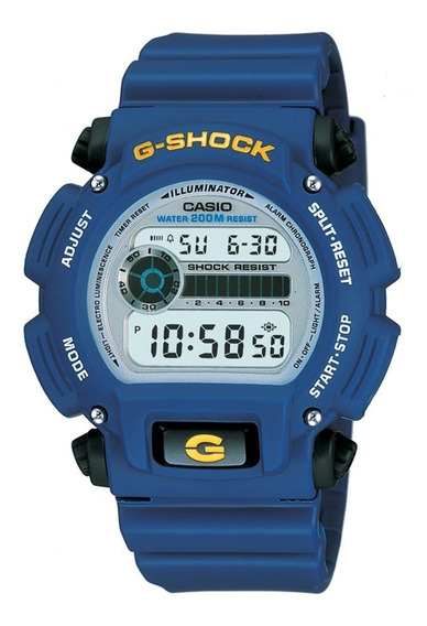 Relógio Masculino Casio G-shock Dw-9052-2vdr - Azul