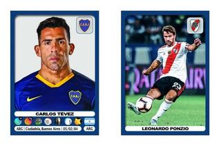 Figuritas Sueltas Fútbol Argentino 2019 2020 Superliga
