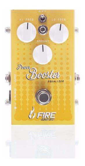 Pedal De Efeitos Guitarra Fire Power Booster Equalizer V2