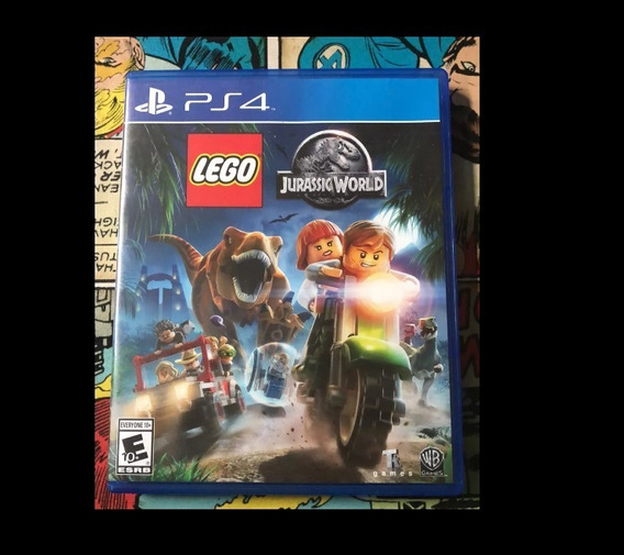 Lego Jurassic World Ps4 Mídia Física