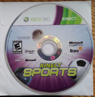 Kinect Sports Usado Xbox 360 - Blakhelmet C