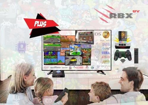 Consola Retro Rbx Plus Slim Y Tvbox Android