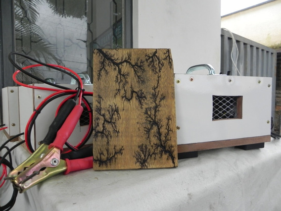 Maquina Para Artesanato (lichtenberg) Desenhos (fracctal)
