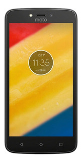 Celular Libre Motorola Moto C Negro 4g 8gb Quad Android 7