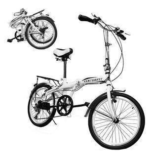 Bicicleta Plegable Retro Vintage R20 Vbrake Centurfit Ciudad
