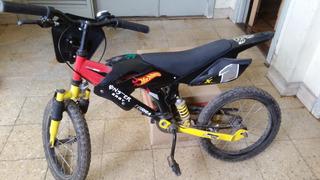 Bicicleta Tipo Moto Rodado 16/negociable