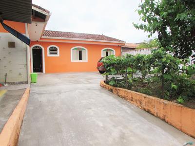 Casa Lado Linha, A 750 Metros Da Praia - Jd. Ribamar - Peruíbe/sp - Ca00413 - 33563056