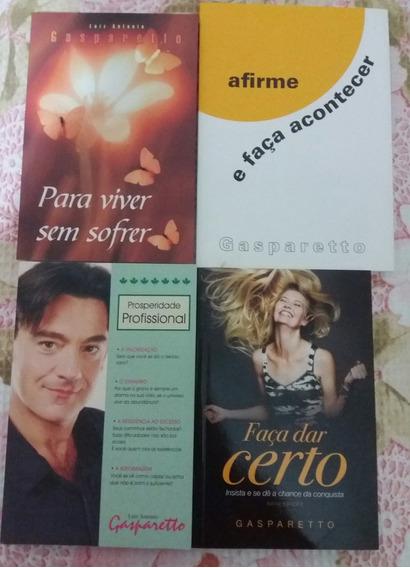 Lote Com 4 Livros Luiz Antonio Gasparetto ***imperdível***