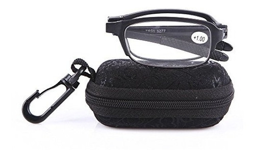 1a44a890dd Soolala Black Mini Tr90 Gafas De Lectura Plegables Con Sopor