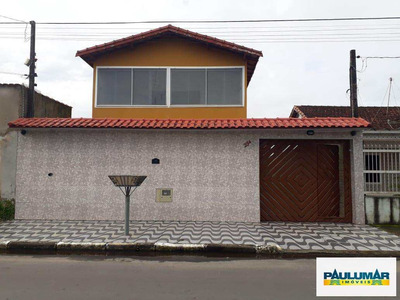 Sobrado Com 5 Dorms, Vila São Paulo, Mongaguá - R$ 480 Mil, Cod: 828750 - A828750