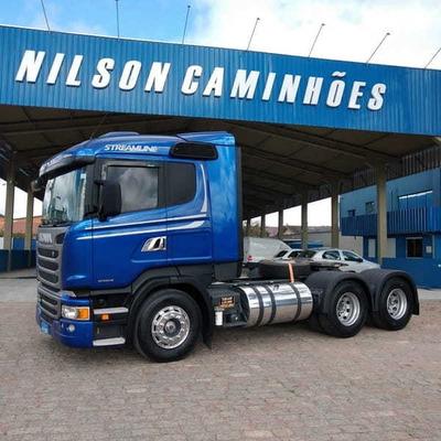 Scania R 440 Streamline, 6x4, 2016 Nilson Caminhões 81
