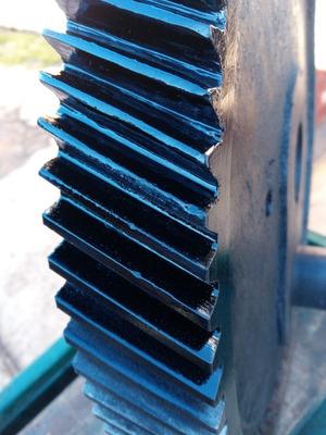 Recuperação De Engrenagens Industriais