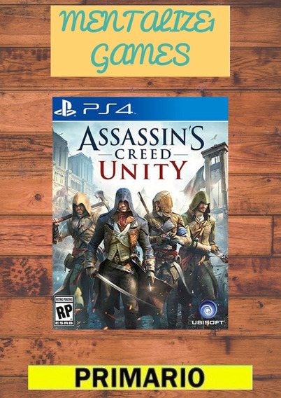 Assassins Creed Ac Unity Ps4 Original 1