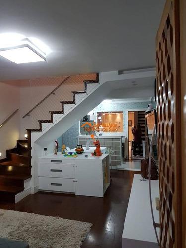 Imagem 1 de 30 de Sobrado Para Compra, Com 2 Dormitórios À Venda, 123 M² Por R$ 519.000 - Jardim Santa Mena - Guarulhos/sp - So0598