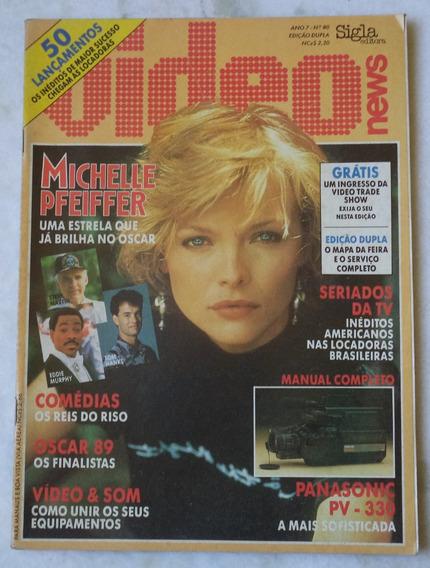 Revista Vídeo News Nº 80 Capa Michelle Pfeiffer