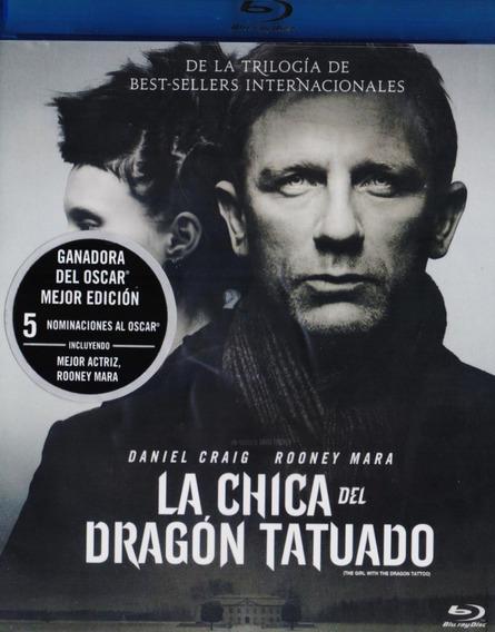 La Chica Del Dragon Tatuado Pelicula Blu-ray