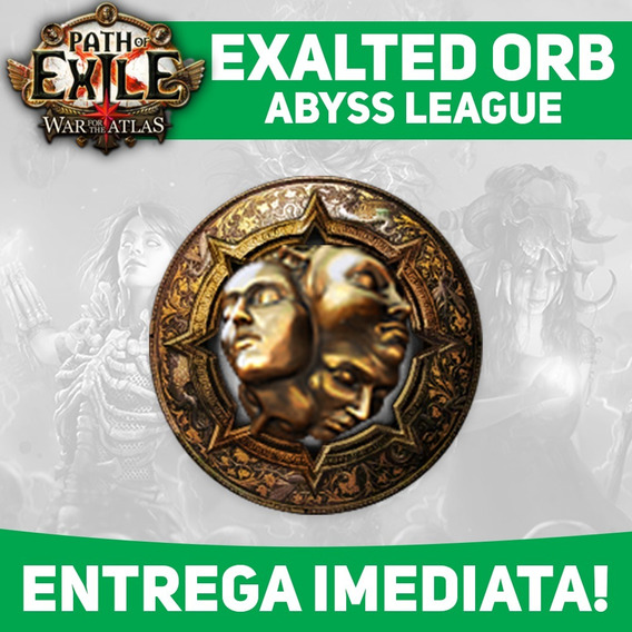 Exalted Orb - Harbinger League - Path Of Exile