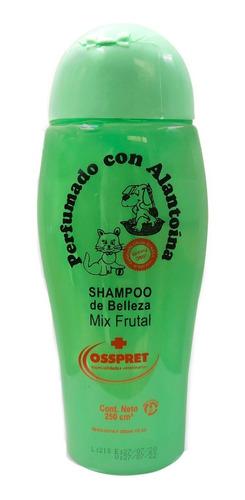 Shampoo Perfumado Mix Frutal Perros Y Gatos Osspret 250ml