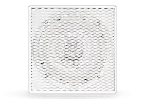Caixa Arandela Quadrada Para Embutir Gesso Boog 130w Rms