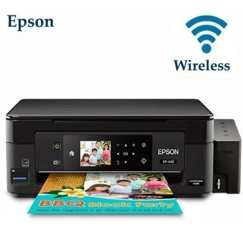 Impresora Epson Multifuncional L120,xp Con Sistema De Tinta