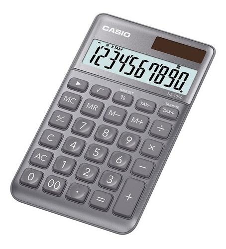 Imagen 1 de 6 de Calculadora Casio Ns-10sc Linea Premium Mi Estilo 10 Digitos