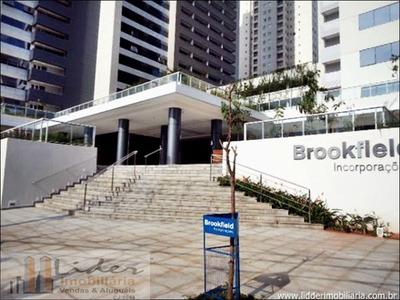 Apartamento Flat Com 1 Quarto No Ed. Brookfield Towers - 1142-l