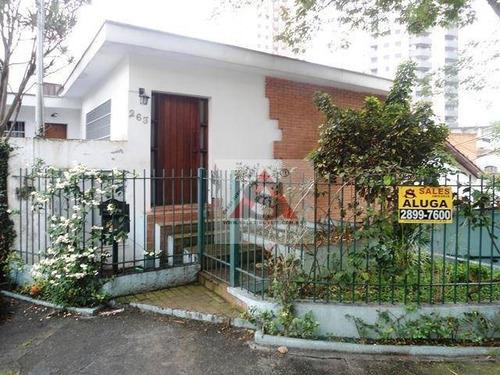 Casa, 250 M² - Venda Por R$ 1.420.000,00 Ou Aluguel Por R$ 4.500,00/mês - Vila Mariana - São Paulo/sp - Ca1561