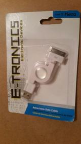 267c5e71a43 Cable Cargador Usb Retráctil Apple iPhone 4 4s iPad 2 30 Pin