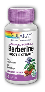 Berberina Root Extract 60 Cap Diabetes Sustitiye Metformina
