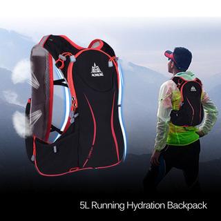 Aonijie 5l Desporto Ao Ar Livre Correndo Vest Backpack