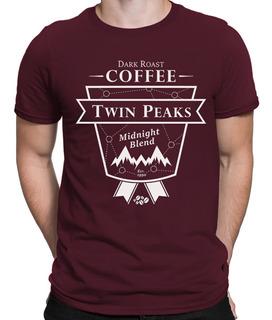 Camiseta Twin Peaks Coffee Serie Netflix Anos 90 Audrey Dale