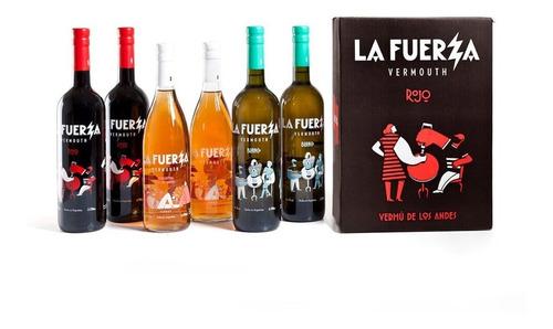 Imagen 1 de 5 de Caja 6 Botellas La Fuerza Mix 2 De (rojo, Blanco Y Primaver)