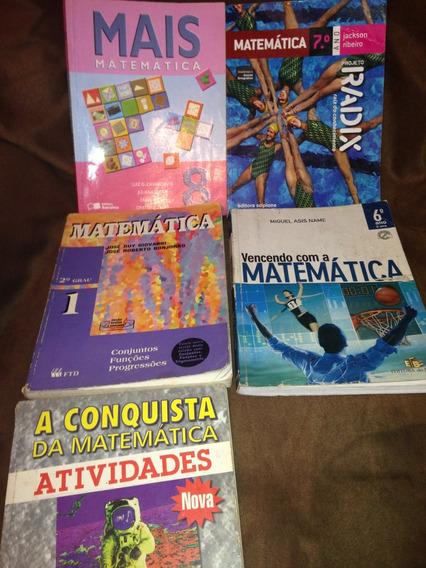 Matemática 5 Livros Giovani,bonjorno,name,cavalcanti,ribeiro