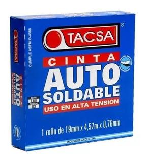 Oferta! Cinta Auto Soldable Aisladora Tacsa 19mm 4.57mts