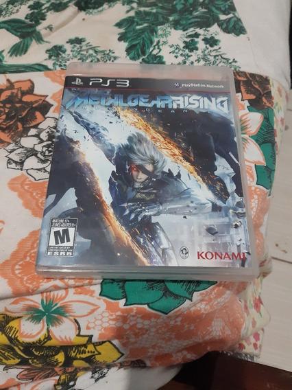 Metal Gear Rising Revengence Ps3 - Mídia Física