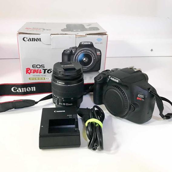 Kit Câmera Cânon T6 + 18-55mm