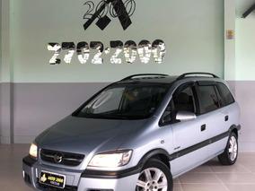 Chevrolet Zafira Comfort Prata Completa Muito Nova