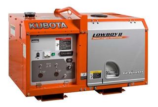 Grupo Electrógeno Kubota Gl6000 / 6kva Monofásico Diésel Cab