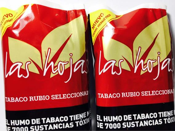 Tabaco Las Hojas Rubio Seleccionado 50gramos Pack X5 Tabaco